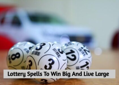 lottery spells that work